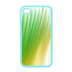Folded Digitally Painted Abstract Paint Background Texture Apple iPhone 4 Case (Color)