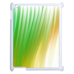 Folded Digitally Painted Abstract Paint Background Texture Apple iPad 2 Case (White)