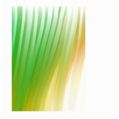 Folded Digitally Painted Abstract Paint Background Texture Large Garden Flag (Two Sides)