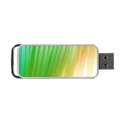 Folded Digitally Painted Abstract Paint Background Texture Portable Usb Flash (one Side)