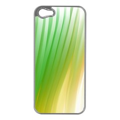 Folded Digitally Painted Abstract Paint Background Texture Apple Iphone 5 Case (silver)