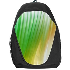 Folded Digitally Painted Abstract Paint Background Texture Backpack Bag