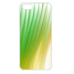 Folded Digitally Painted Abstract Paint Background Texture Apple iPhone 5 Seamless Case (White)