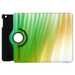 Folded Digitally Painted Abstract Paint Background Texture Apple iPad Mini Flip 360 Case