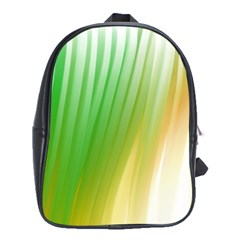 Folded Digitally Painted Abstract Paint Background Texture School Bags (XL)