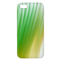 Folded Digitally Painted Abstract Paint Background Texture Apple Iphone 5 Premium Hardshell Case