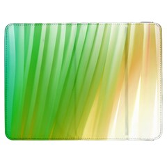 Folded Digitally Painted Abstract Paint Background Texture Samsung Galaxy Tab 7  P1000 Flip Case