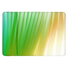 Folded Digitally Painted Abstract Paint Background Texture Samsung Galaxy Tab 8 9  P7300 Flip Case