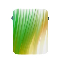 Folded Digitally Painted Abstract Paint Background Texture Apple iPad 2/3/4 Protective Soft Cases