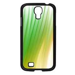 Folded Digitally Painted Abstract Paint Background Texture Samsung Galaxy S4 I9500/ I9505 Case (Black)