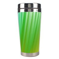 Folded Digitally Painted Abstract Paint Background Texture Stainless Steel Travel Tumblers