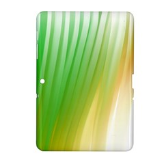 Folded Digitally Painted Abstract Paint Background Texture Samsung Galaxy Tab 2 (10.1 ) P5100 Hardshell Case