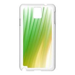 Folded Digitally Painted Abstract Paint Background Texture Samsung Galaxy Note 3 N9005 Case (white)