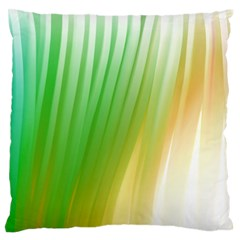 Folded Digitally Painted Abstract Paint Background Texture Large Flano Cushion Case (One Side)