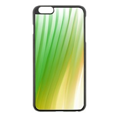 Folded Digitally Painted Abstract Paint Background Texture Apple Iphone 6 Plus/6s Plus Black Enamel Case