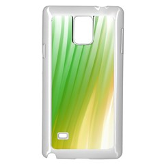 Folded Digitally Painted Abstract Paint Background Texture Samsung Galaxy Note 4 Case (white)