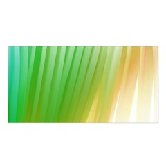 Folded Digitally Painted Abstract Paint Background Texture Satin Shawl