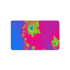 Digital Fractal Spiral Magnet (Name Card)