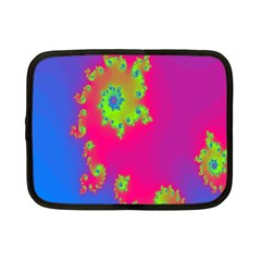 Digital Fractal Spiral Netbook Case (small)