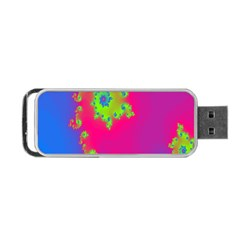 Digital Fractal Spiral Portable Usb Flash (one Side)