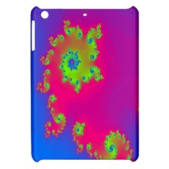 Digital Fractal Spiral Apple iPad Mini Hardshell Case