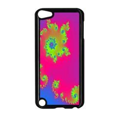Digital Fractal Spiral Apple iPod Touch 5 Case (Black)