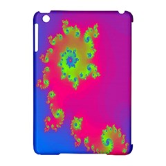 Digital Fractal Spiral Apple iPad Mini Hardshell Case (Compatible with Smart Cover)