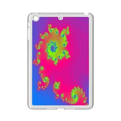 Digital Fractal Spiral iPad Mini 2 Enamel Coated Cases