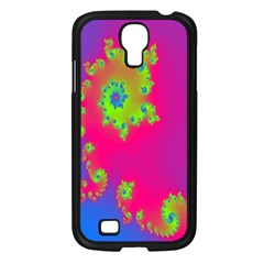 Digital Fractal Spiral Samsung Galaxy S4 I9500/ I9505 Case (black)