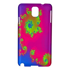 Digital Fractal Spiral Samsung Galaxy Note 3 N9005 Hardshell Case