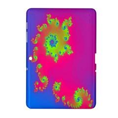 Digital Fractal Spiral Samsung Galaxy Tab 2 (10.1 ) P5100 Hardshell Case