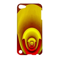 Red Gold Fractal Hypocycloid Apple iPod Touch 5 Hardshell Case