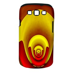 Red Gold Fractal Hypocycloid Samsung Galaxy S III Classic Hardshell Case (PC+Silicone)