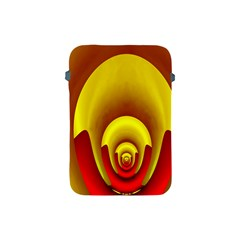 Red Gold Fractal Hypocycloid Apple iPad Mini Protective Soft Cases