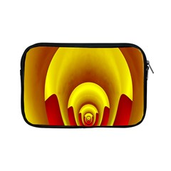 Red Gold Fractal Hypocycloid Apple iPad Mini Zipper Cases