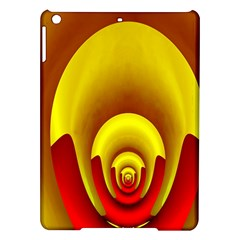 Red Gold Fractal Hypocycloid iPad Air Hardshell Cases