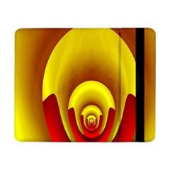 Red Gold Fractal Hypocycloid Samsung Galaxy Tab Pro 8.4  Flip Case