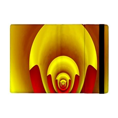 Red Gold Fractal Hypocycloid iPad Mini 2 Flip Cases