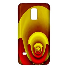 Red Gold Fractal Hypocycloid Galaxy S5 Mini