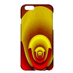 Red Gold Fractal Hypocycloid Apple Iphone 6 Plus/6s Plus Hardshell Case