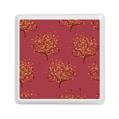 Beautiful Tree Background Pattern Memory Card Reader (square)