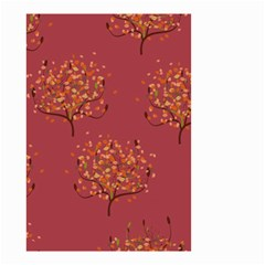 Beautiful Tree Background Pattern Small Garden Flag (Two Sides)