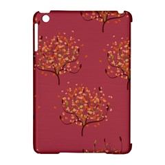 Beautiful Tree Background Pattern Apple iPad Mini Hardshell Case (Compatible with Smart Cover)