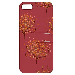 Beautiful Tree Background Pattern Apple iPhone 5 Hardshell Case with Stand