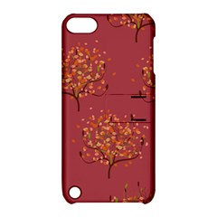 Beautiful Tree Background Pattern Apple iPod Touch 5 Hardshell Case with Stand