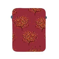 Beautiful Tree Background Pattern Apple iPad 2/3/4 Protective Soft Cases
