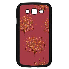 Beautiful Tree Background Pattern Samsung Galaxy Grand DUOS I9082 Case (Black)