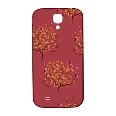 Beautiful Tree Background Pattern Samsung Galaxy S4 I9500/I9505  Hardshell Back Case