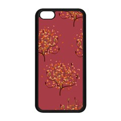 Beautiful Tree Background Pattern Apple iPhone 5C Seamless Case (Black)