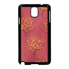 Beautiful Tree Background Pattern Samsung Galaxy Note 3 Neo Hardshell Case (Black)